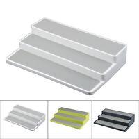 Set Of 3 Tier Shelf Rack Kitchen Pantry Home Bathroom Storage Organiser Durable