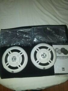 """DUAL DMP672 High Performance 6.5"""" Speakers PAIR 100W 20RMS 4OHM BRAND NEW"""