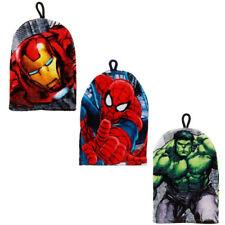 Kids Boys Marvel Iron Man Spider Man Hulk Bath Wash Mitt Mitts Glove Gloves