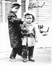 Clint & Ron Howard Autographed 8 x 10 From The Andy Griffith Show