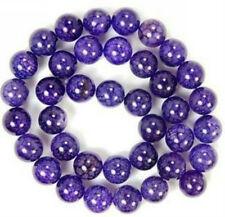 "6mm Purple Dragon Veins Agate Round Loose beads 15""AAA"