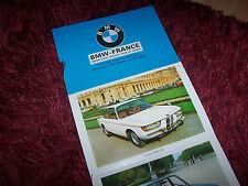 Prospectus  / Brochure BMW Gamme / Full line 1970 //