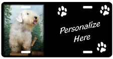 Sealyham Terrier                 Personalized             Auto Pet License Plate