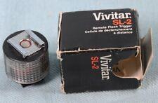 Vintage VIVITAR SL-2 Remote Flash Trigger with Original Box