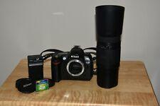 Nikon D D70 6.1Mp Digital Slr Camera, With Sigma af 75-300mm f/4-5.6 lens