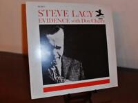 """Steve Lacy """"Evidence with Don Cherry' French reissue of original US LP (Prestige"""