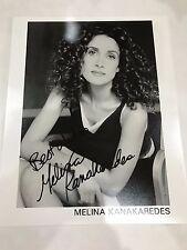 Melina KanaKaredes Signed Autograph CSI NY Stella Bonasera 8x10 Photo