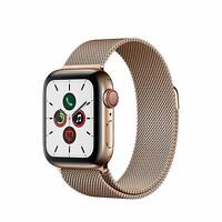 Apple Watch Gen 5 Series 5 Cell 40mm Stainless Steel - Gold Milanese Loop