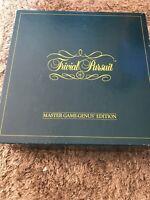 Trivial Pursuit | Master Game / Genus Edition | 1983 | Complete