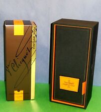 VEUVE CLICQUOT VINTAGE 2004 CHAMPAGNE 750 mL DISPLAY CASE & CAROUSEL CASE COMBO!
