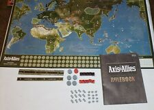Axis & Allies Spring 1942 Strategy Board & Replacement Pieces & Instructions