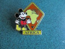 Disney WDW Hidden Mickey Continent Stamps Africa Pin. Authentic