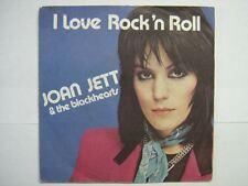 JOAN JETT 45 TOURS FRANCE I LOVE ROCK'N'ROLL