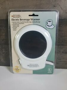 KITCHEN GOURMET ELECTRIC BEVERAGE WARMER COFFEE, TEA, HOT CHOCOLATE, SOUP HOT 🔥