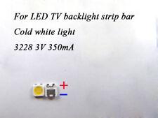 100pcs 3228 3V SMD Lamp Beads LED Bulb for Samsung LED TV Backlight Strip Repair