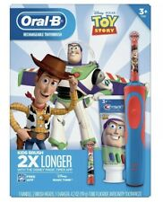 Oral-B Toy Story Rechargeable Toothbrush with 2 Brush Heads and Toothpaste