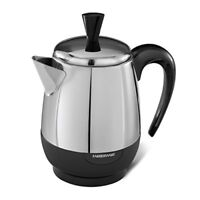 NEW Farberware 2 4 Cup Percolator Stainless Steel FCP240 FREE SHIPPING