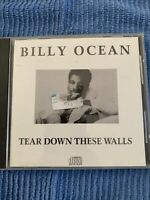 Tear Down These Walls by Billy Ocean (CD, 1988, Zomba (USA)) K-2