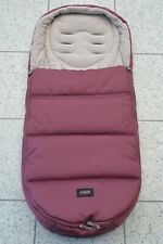 Mamas and Papas 'Plum Wine' Pink Cold Weather PLUS Universal Footmuff Cosytoes
