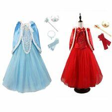 Halloween Princess Xmas Cinderella Dress Up Kids Girls Fancy Costume Accessories