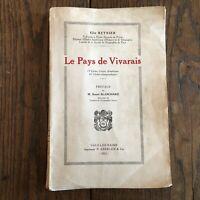 Il Paesi Di Vivarais Elie Reynier Vals-Les-Bains Aberlen 1923