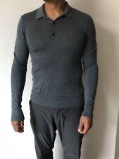 ALLSAINTS Size M 100% Merino Grey Long Sleeve