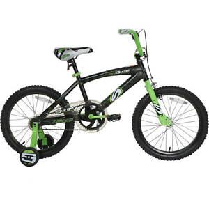 "18"" Surge BMX Bike Boys Bicycle Kids Ride On Toy Steel Frame w/ Training Wheel"