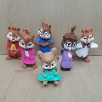 ALVIN AND THE CHIPMUNKS MCDONALDS TOY SET OF 6 - 2009 & 2011