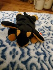 "Ty Beanie Babies ""Doby"" the Doberman Pinscher Dog - Mwmts! Check Out My Beanies!"