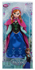 """NEW DISNEY STORE FROZEN 12""""  ANNA Classic Collection Fashion Doll"""