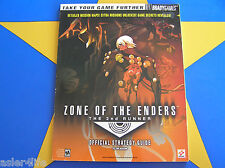 ZONE OF THE ENDERS THE 2ND RUNNER - STRATEGY GUIDE
