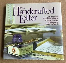 The Handcrafted Letter Hard Cover Book MINT