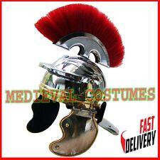 Medieval Roman Centurion Helmet Crest Plume Gladiator Costume Miniature