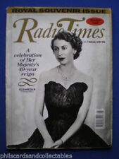 Radiotimes Weekly Magazines in English