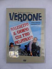 MALEDETTO IL GIORNO CHE T'HO INCONTRATO Il Grande Cinema Carlo Verdone Film DVD