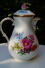 Meissen handpainted tea pot