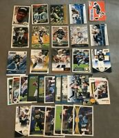HUGE 33 Card Football Lot San Diego LA Chargers Stars, Rookies, Rivers and More