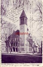 "CITY HALL, ALBANY, NY ""Be on hand Saturday at 3pm, I am going to jump... 1903"