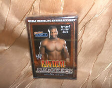 WWE Wrestling - RAW DEAL Armageddon Starter Deck,61 Cards-NEU,OVP,RAR,Lizenz