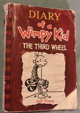 Diary of a Wimpy Kid The Third Wheel By Jeff Kinney  Soft Cover 2012