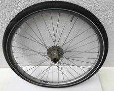 26 Zoll MTB Mountainbike Hinterrad 8x o Singlespeed RIGIDA Continental 26x1.95