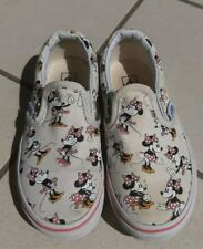 disney collection vans minnie mouse 27 UK 10 US 10,5 slip on micky