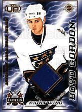 2003-04 Heads-Up Jersey #25 Boyd Gordon
