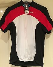 NEW PBK Heritage Rouen Short Sleeve Cycling Jersey White/red/black Size L