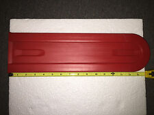 "Chainsaw 16"" Bar Cover Red Scabbard Protective Cover 12"" 14"" 16"" Husqvarna Stihl"