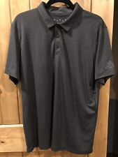 adidas Climachill Football Golf Polo Shirt 3M Reflective Men's Size Large L