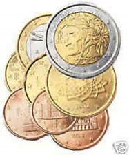 Italië  2007  volledige set van 1ct tot 2 euro      UNC uit de rol !!!