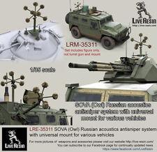 1/35 SOVA (Owl) Russian Acoustics Anti-Sniper System w/Universal Mount