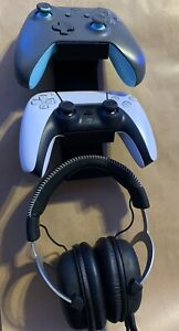 XBOX Series PlayStation PS5 2Controllers+Headset Wall Mount Holder Stand