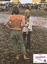 Woodstock Michael Wadleigh Lobby Card 1970